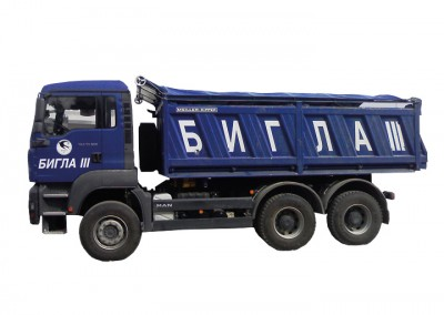 Covers for dump trucks